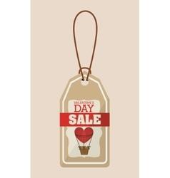 valentines day sale design vector image