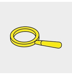 Search magnifying glass vector