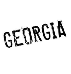 Georgia stamp rubber grunge vector