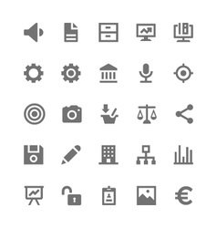 Business and office icons 2 vector