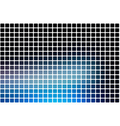 deep and pale blue abstract rounded mosaic vector image