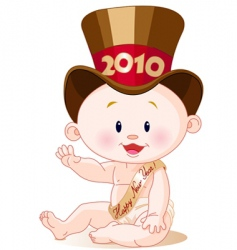 new year 2010 vector image vector image