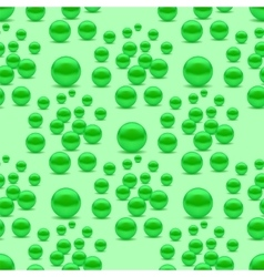 Fresh natural green peas vector