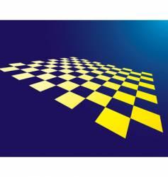 checked board vector image