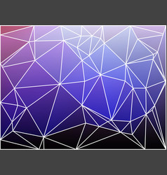 Purple lilac pink geometric background with mesh vector