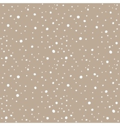 Snow kraft paper seamless pattern vector image vector image