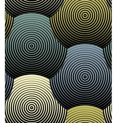 Striped Shells Seamless Pattern vector image vector image
