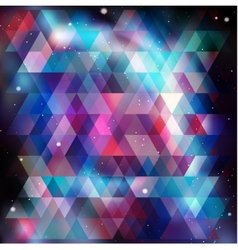 Geometry cosmos background vector image