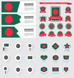 Set bangladesh vector