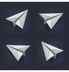 PaperPlane vector image