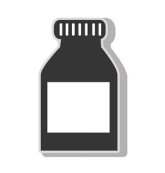 Medical medicine bottle vector