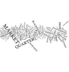 First quarter update text background word cloud vector