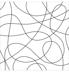 Seamless pattern of loops vector image vector image