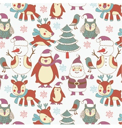 Winter xmas print vector