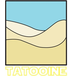 Tatooine vector