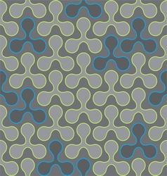 circle Seamless pattern wallpaper vector image vector image