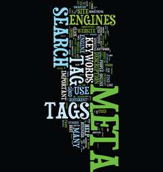 Meta tag you re it how to use meta tags vector