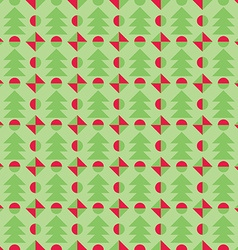 Retro christmas pattern winter wallpaper vector