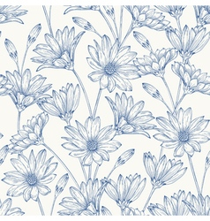 Beautiful vintage seamless pattern vector