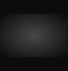 geometric polygons background abstract black vector image vector image