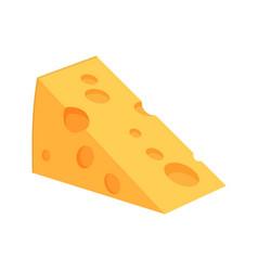 Icon web cheese vector