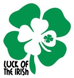 Luck of the irish vector