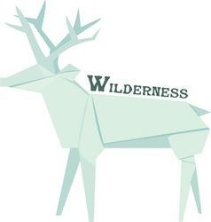 Wilderness vector image vector image