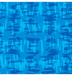 Seamless pattern waves texture stylish abstract vector