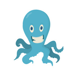 octopu vector image