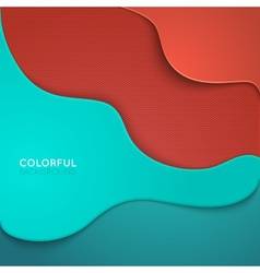 Curve lines shadow overlap 3d dimension vector
