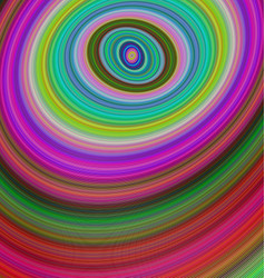 Abstract multicolored ellipse fractal background vector