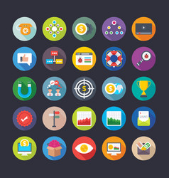 Business and office icons 18 vector
