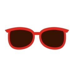 Sunglasses fashion isolated icon design vector