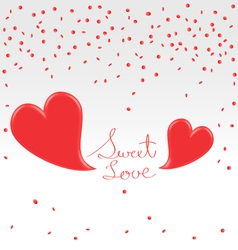 Valentines day greetings vector
