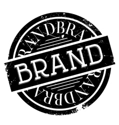 Brand rubber stamp vector