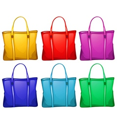Different handbags vector