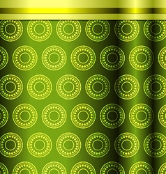 Seamless pattern in green tones vector