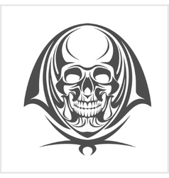 Demon Skull vector image