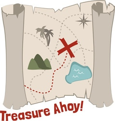 Treasure ahoy vector