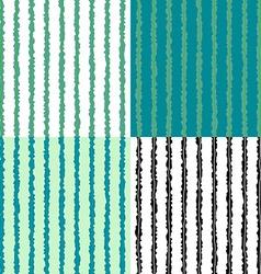 Seaweed plant lines sea nature seamless pattern vector