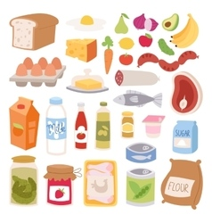 Everyday food vector