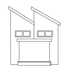Factory industry industrial icon vector
