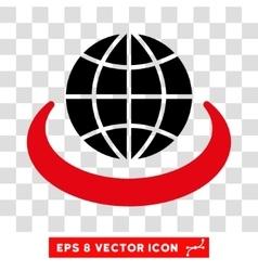 Global Network Eps Icon vector image