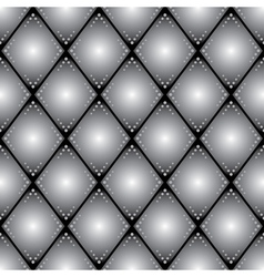 rhombus seamless pattern for background vector image vector image