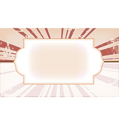 style template frame vector image vector image