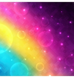 Abstract glowing background with transparent vector