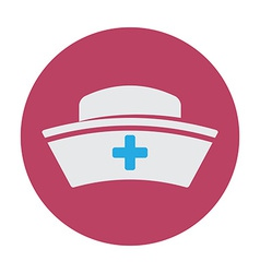 Nurse hat vector