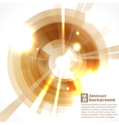 Abstract glowing circle background vector