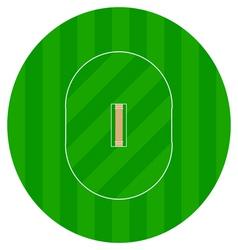 Cricket grounds vector