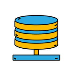 Database technology to server connection vector